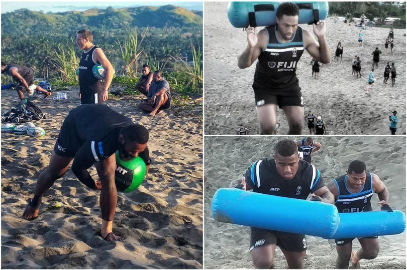 Джон Макки испытал прочность фиджийцев на песчаных дюнах