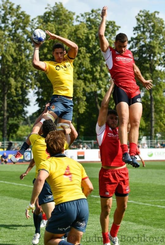 Первый этап чемпионата Европы по регби-7. 1-й день. Фотоотчёт