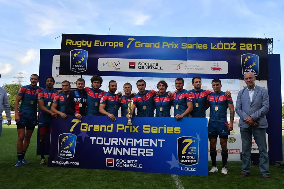 Сборная России – чемпион Европы по регби-7