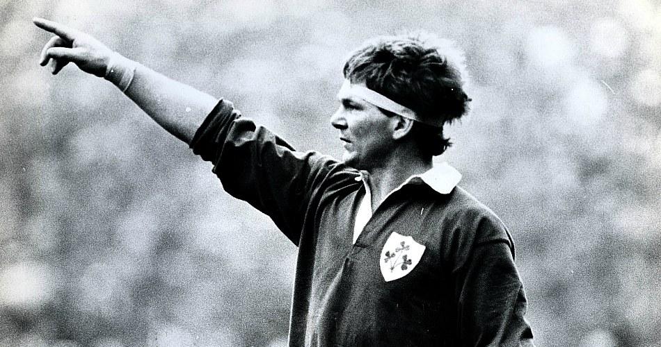История регби в картинках. Сиаран Фицджеральд на Кубке Пяти Наций 1982