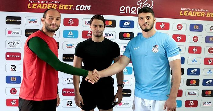Гиорги Басилаиа и  Бека Урджукашвили поблагодарили команды друг друга