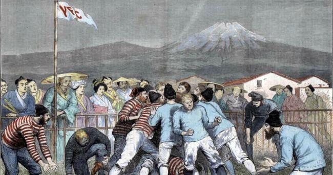 Факты о регби. Самый старый неяпонский японский клуб