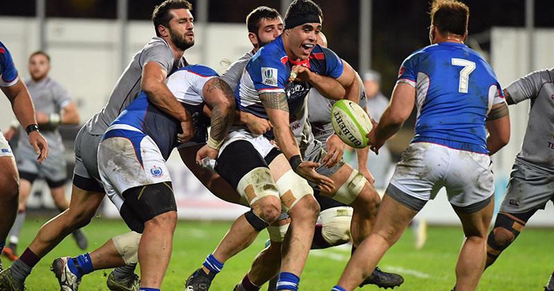 Грузия переломила ход матча с Самоа и выгрызла победу