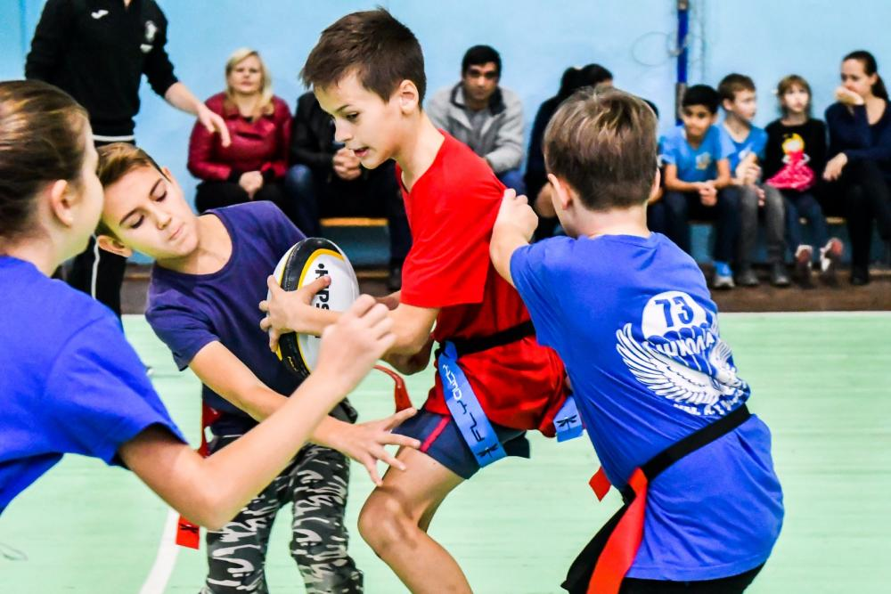 В Краснодаре стартовала «Школьная регбийная лига»,