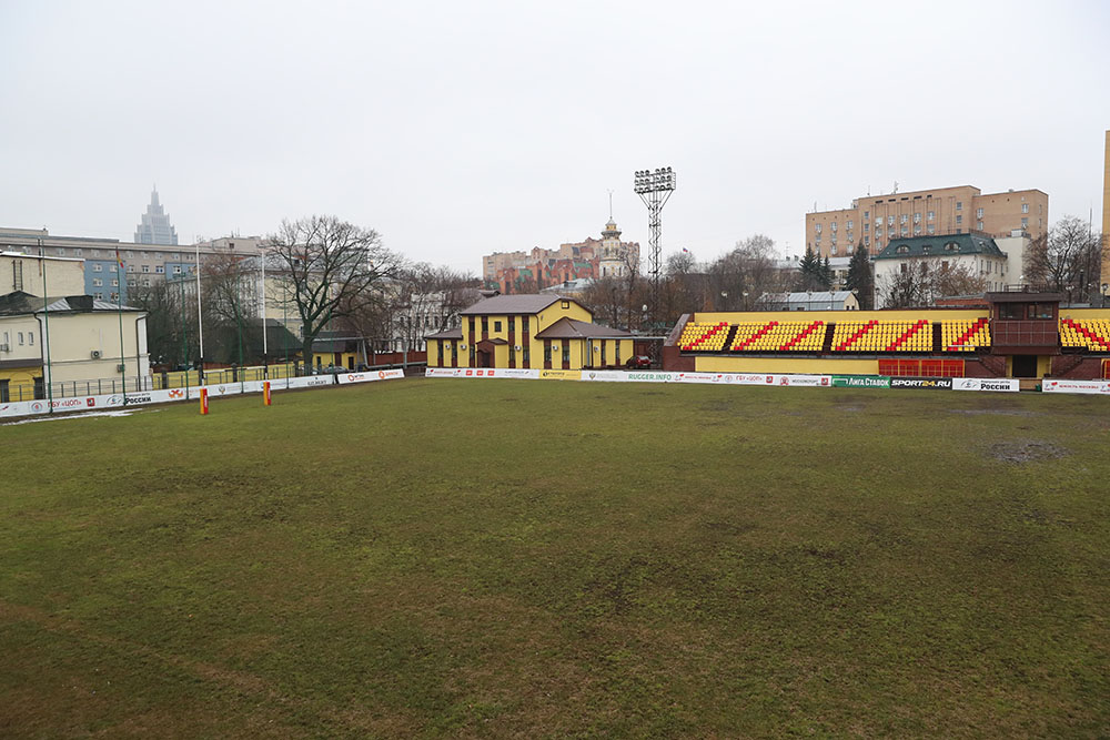 Торжественное открытие стадиона «Слава» после реконструкции