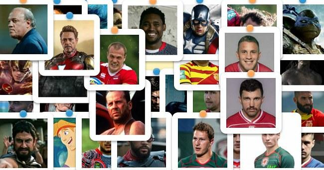 Игра: «Лига регбийных супергероев»