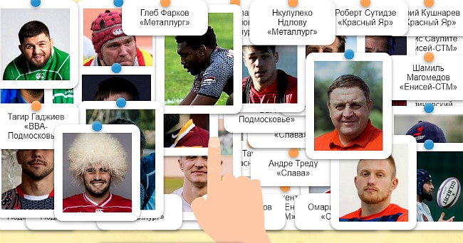 Тест: Лица чемпионата России. Игра I