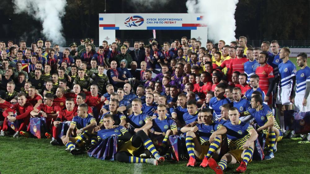 В Москве пройдет Кубок Вооруженных сил по регби-7