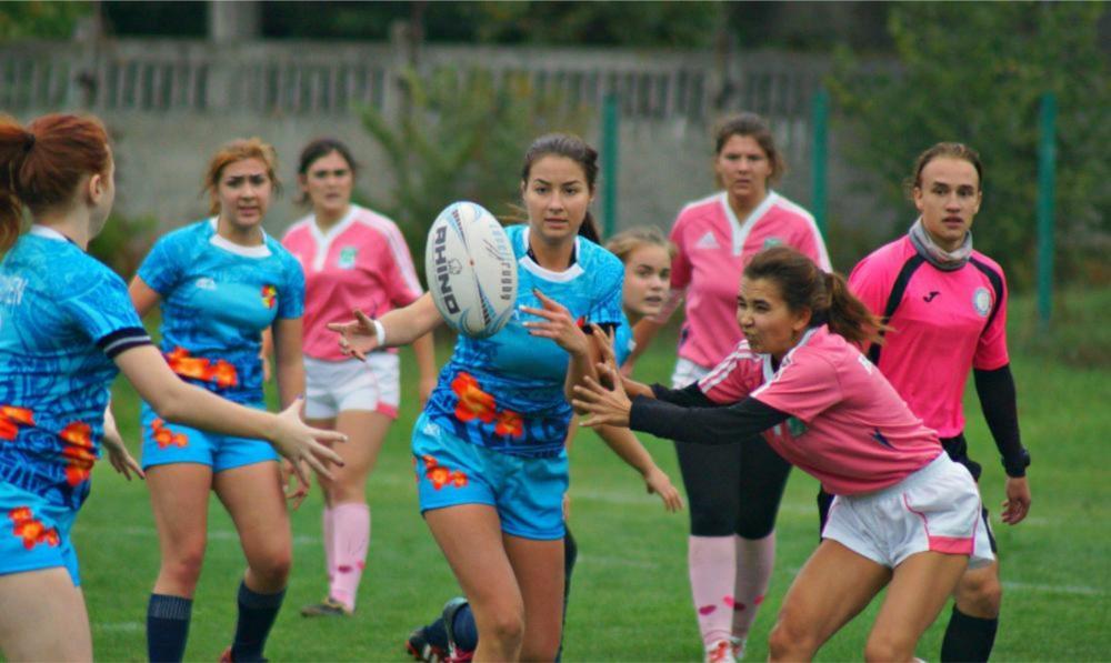 В элите женского украинского регби сыграют четыре команды