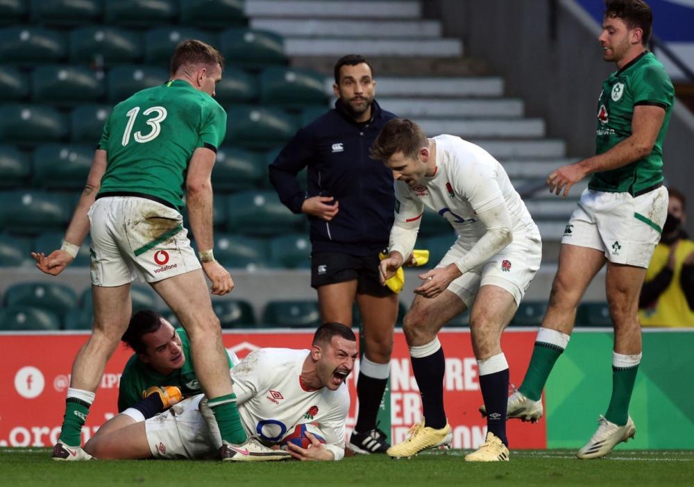 Победа Англии при полном отсутствии Ирландии