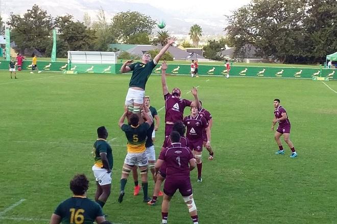 ЮАР разгромила Грузию в матче молодежных сборных