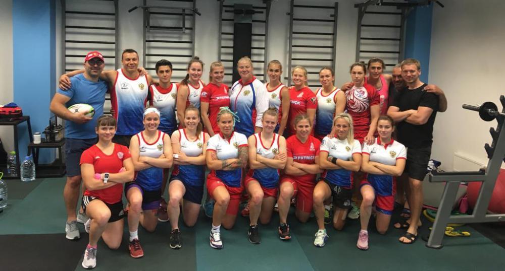 Стартовали УТС женской сборной России по пляжному регби