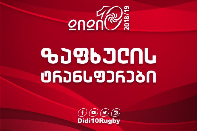 Чемпионат Грузии 2018/2019 стартует 31 августа