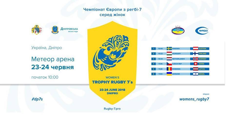 Чемпионат Европы по регби-7 в Днепре. Live