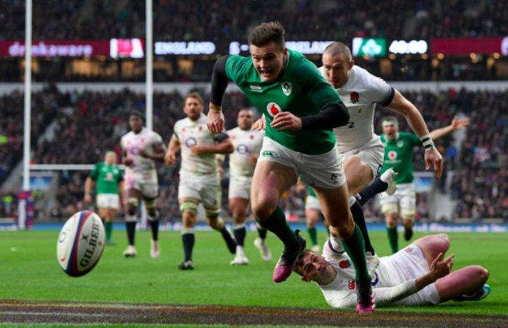 Ирландия отобрала у Англии Большой Шлем