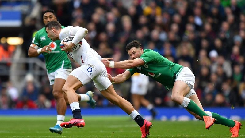Англичане выбили ирландцев из борьбы за Большой Шлем