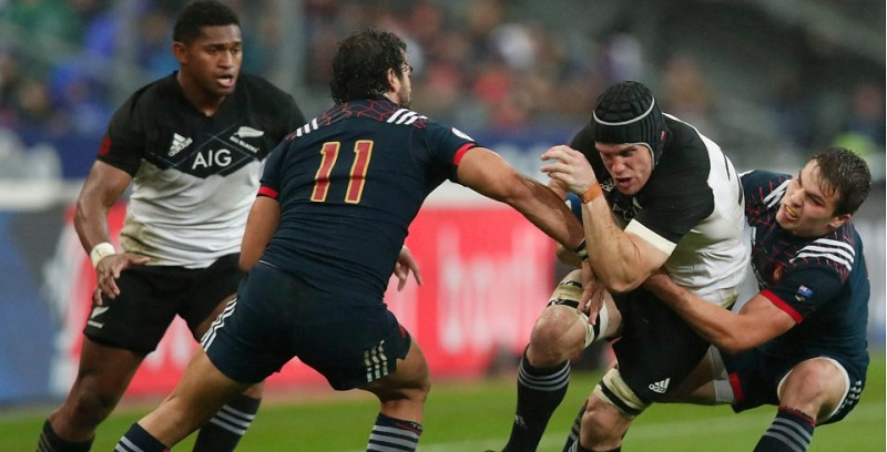 Франция XV – Новая Зеландия XV. Live