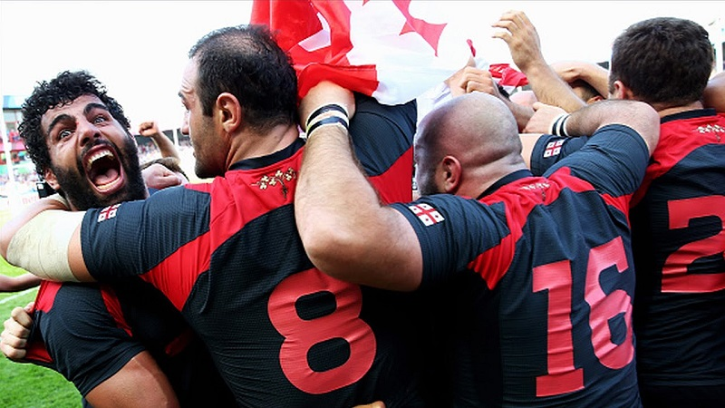 Десять лучших матчей сборной Грузии в истории регби