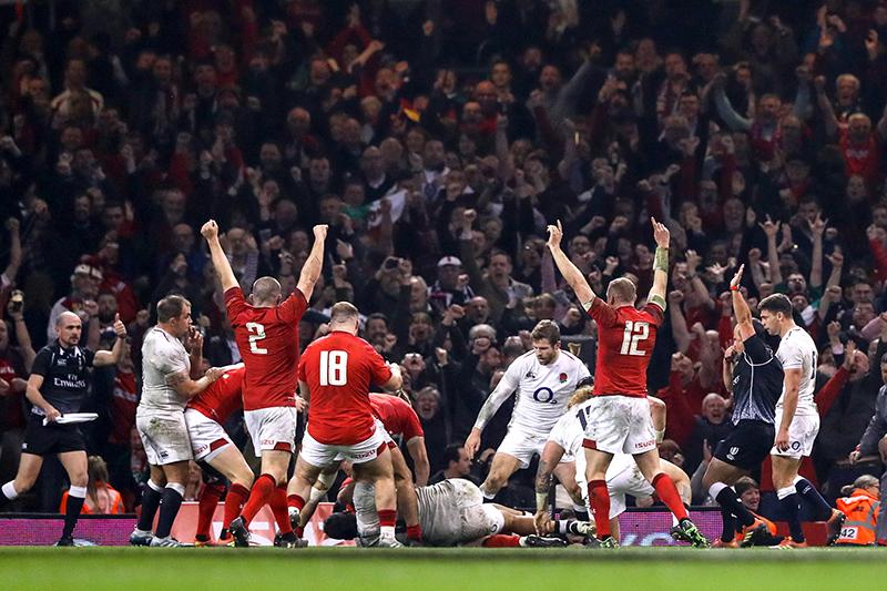 Англия – Уэльс. Кубок Шести Наций 2019. Фотоотчёт :      (с) INPHO