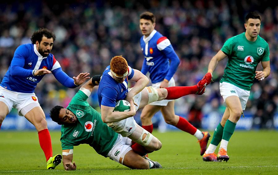 Ирландия – Франция. Кубок Шести Наций 2019. Фотоотчёт