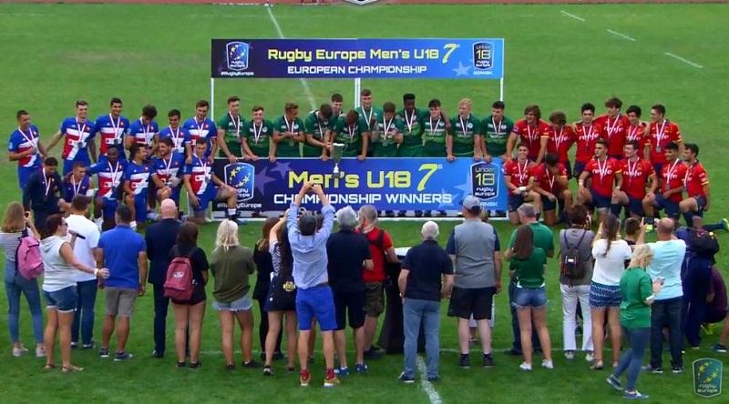 Ирландия – чемпион Европы U18 по регби-7!