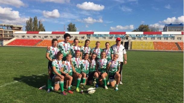 «Красный Яр» - обладатель Кубка России по регби-7 среди девушек!