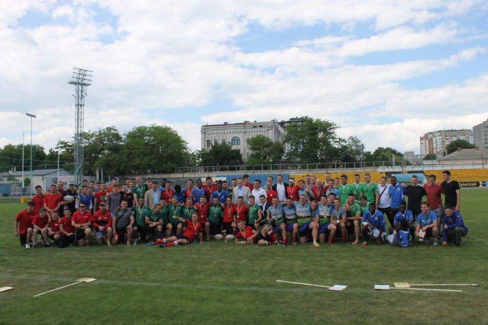 На Всеукраинской Универсиаде по регби-7 победила студенческая сборная Одессы