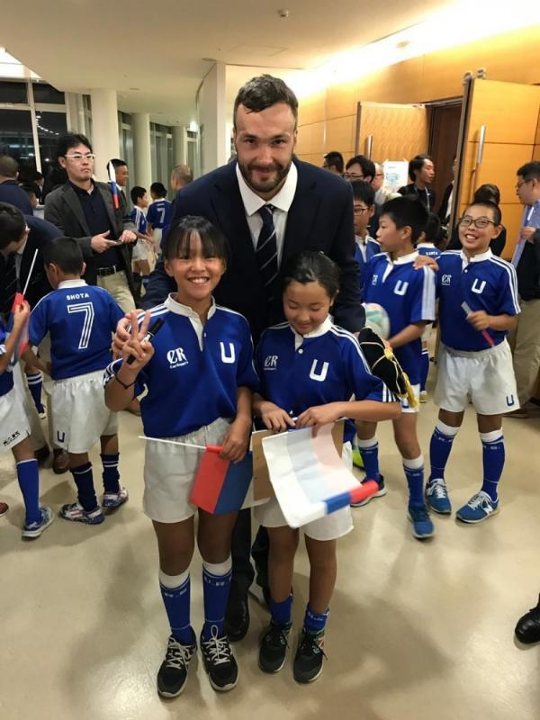 Как сборную России приняли в Японии