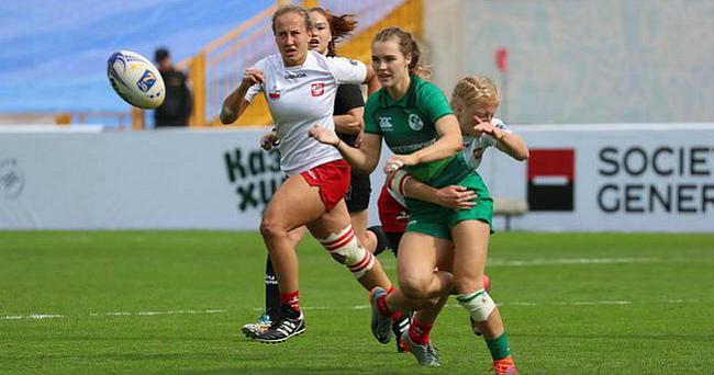 Украине доверили второй тур женского чемпионата Европы по регби-7