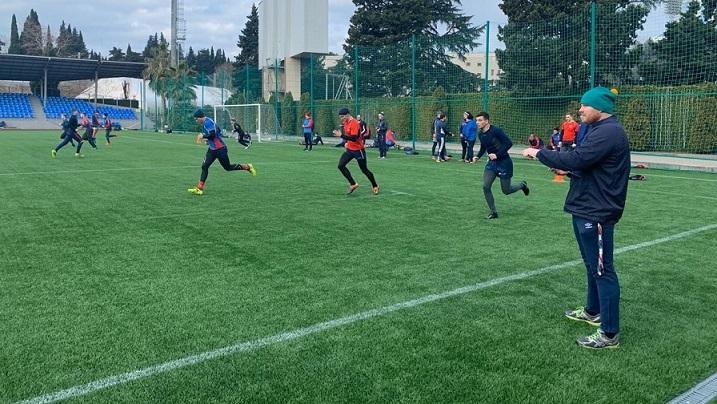 Молодёжная сборная России продолжает подготовку к Португалии
