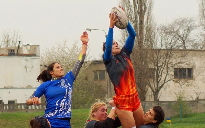 Регби-7: первый тур женской украинской Суперлиги выиграли киевлянки