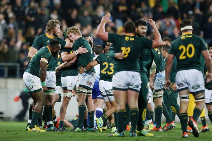 Южная Африка – обладатель Регби Чемпионшипа 2019!