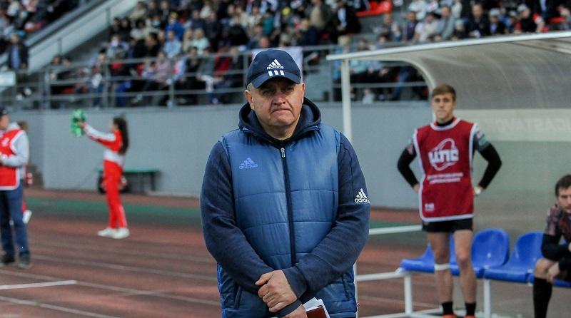 Вячеслав Шалунов: «Мы заслужили хотя бы на одну победу в дуэлях с «Локомотивом»