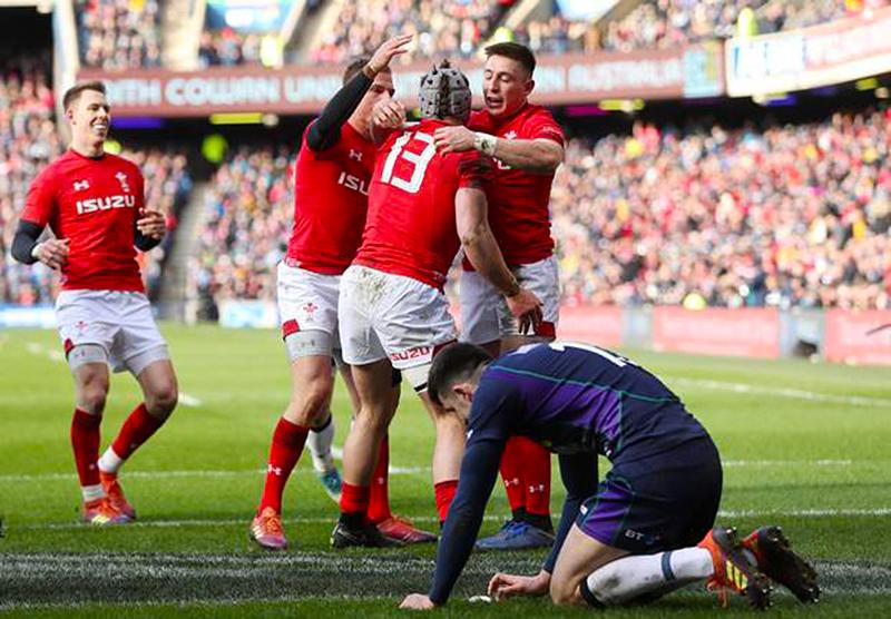 Уэльс – Шотландия. Кубок Шести Наций 2019. Фотоотчёт