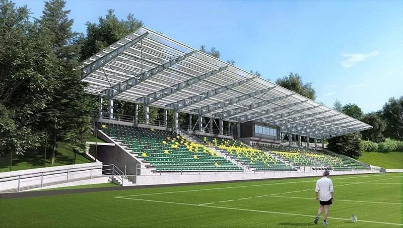 Львовяне представили проект обновлённой регбийной арены